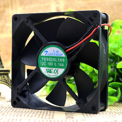 全新天旋TX9025L18S18V0.14A9CM9025冰箱恒温柜散热风扇