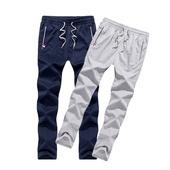 透气吸汗加大码 宽松休闲运动长裤 跑步运动休闲长裤 夏季薄款