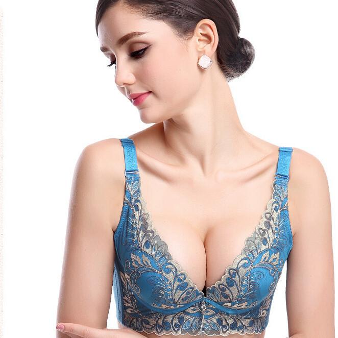 永恒泰 超薄款 中年文胸胸罩 妈妈大胸显小缩胸胖mm加大码内衣女