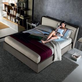 布艺床简约现代北欧布床1.8米双人床实木婚床可拆洗小户型主卧
