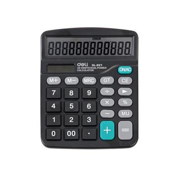 得力计算器办公多功能837计算机