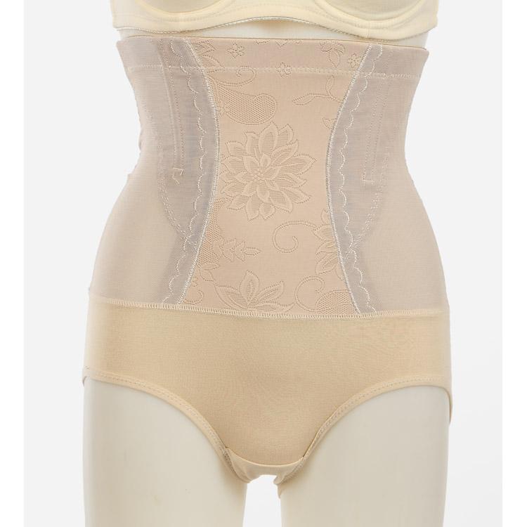 塑身裤薄款美体收腹内衣高腰内裤提花品牌产妇瘦身塑体衣