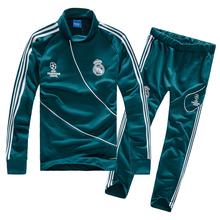 皇马AC米兰2017赛季足球服套装 足球训练服新款球衣队服足球队服