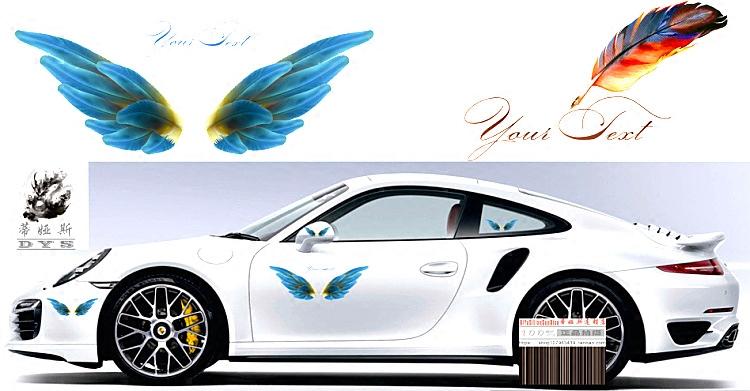 创意油箱盖3d立体汽车贴纸防水划痕装饰改装文字贴画