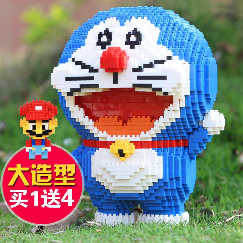 馬里奧成人益智積木微型玩偶顆粒兒童玩具