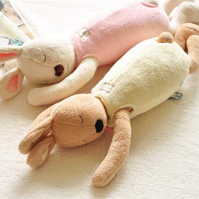儿童宝宝婴儿安抚陪睡觉抱枕玩偶毛绒玩具可爱小兔子布娃娃男女孩