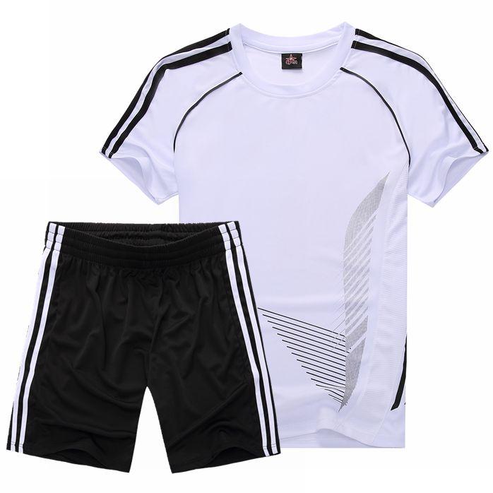 透气短袖短裤健身宽松 运动服儿童亲子套装 跑步服
