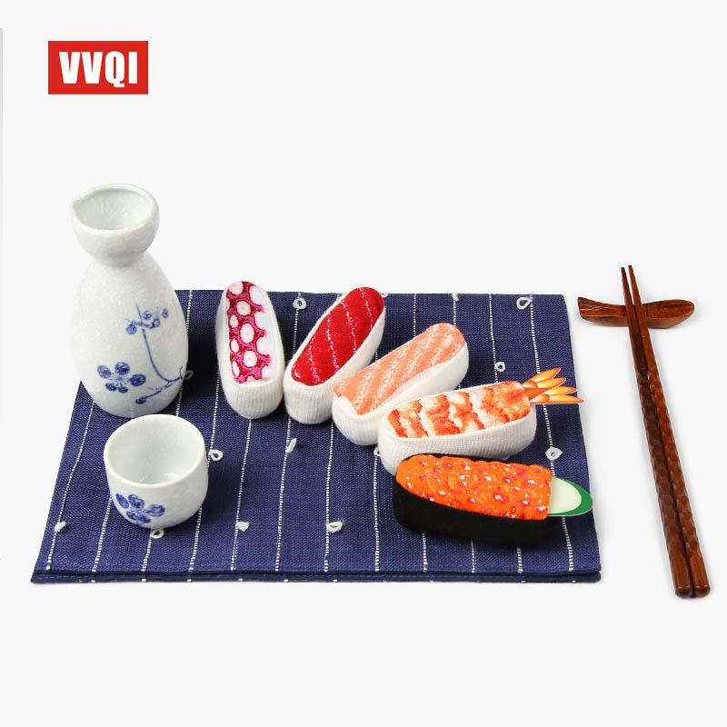 日本原宿创意个性寿司女袜子趣味食物长筒棉袜情侣送礼物高筒袜潮