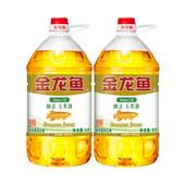 【天猫超市】金龙鱼 纯正 玉米油4L*2 食用油 非转基因 压榨