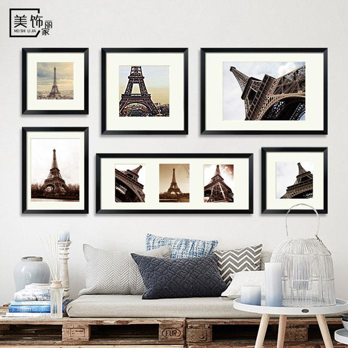照片墙相框墙创意相片墙组合大尺寸客厅北欧挂墙画框