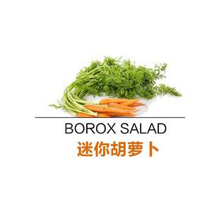 【西餐食材】迷你胡萝卜500g新鲜蔬菜MiniCarrots净菜