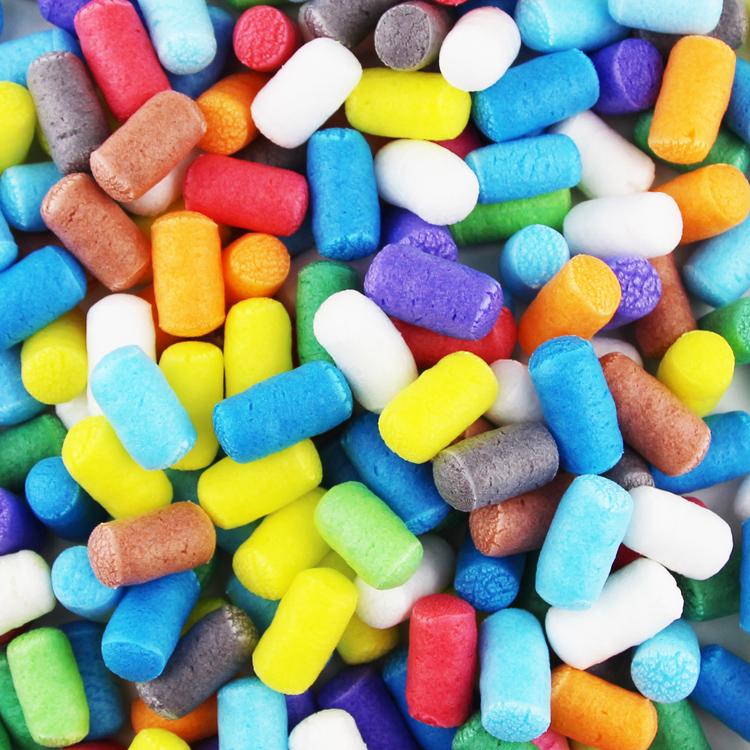 幼儿园手工材料小颗粒儿童diy制作新年礼物创意粘粘粒约400粒