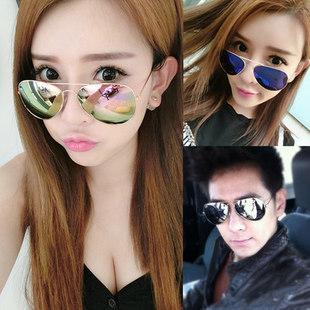 2017新款太阳眼镜韩国圆脸女士墨镜男士潮个性明星款潮人司机眼睛