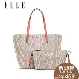 ELLE女包秋冬新款61254单肩包斜挎包手提包欧美时尚简约套装包