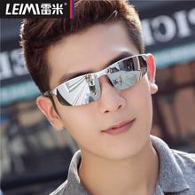 新款铝镁偏光太阳镜男士墨镜潮人眼睛个性运动开车司机驾驶眼镜男