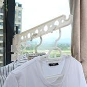 窗框挂衣架子挂衣杆挂窗户旅行衣架阳台窗台晾衣服晒衣架宿舍神器