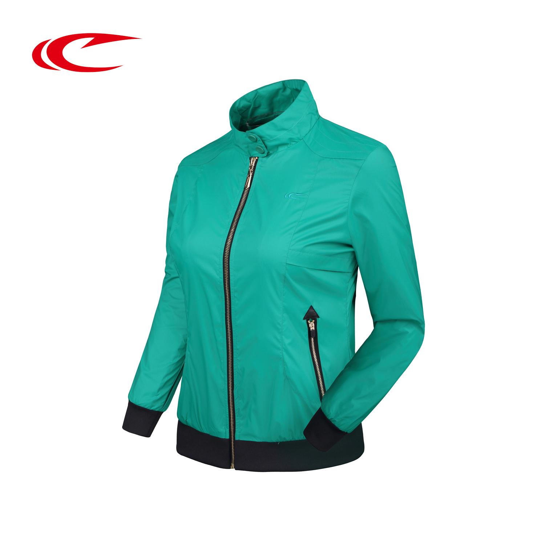 SAIQI赛琪速干外套立领新款运动休闲运动生活女运动风衣214004