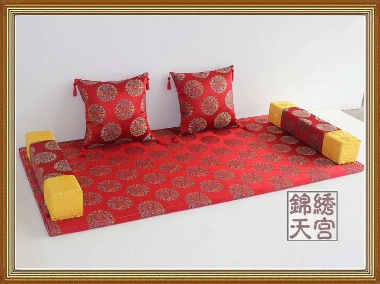 罗汉床垫 中式家具坐垫 餐椅坐垫 古典家具坐垫 榻榻米坐垫 特价