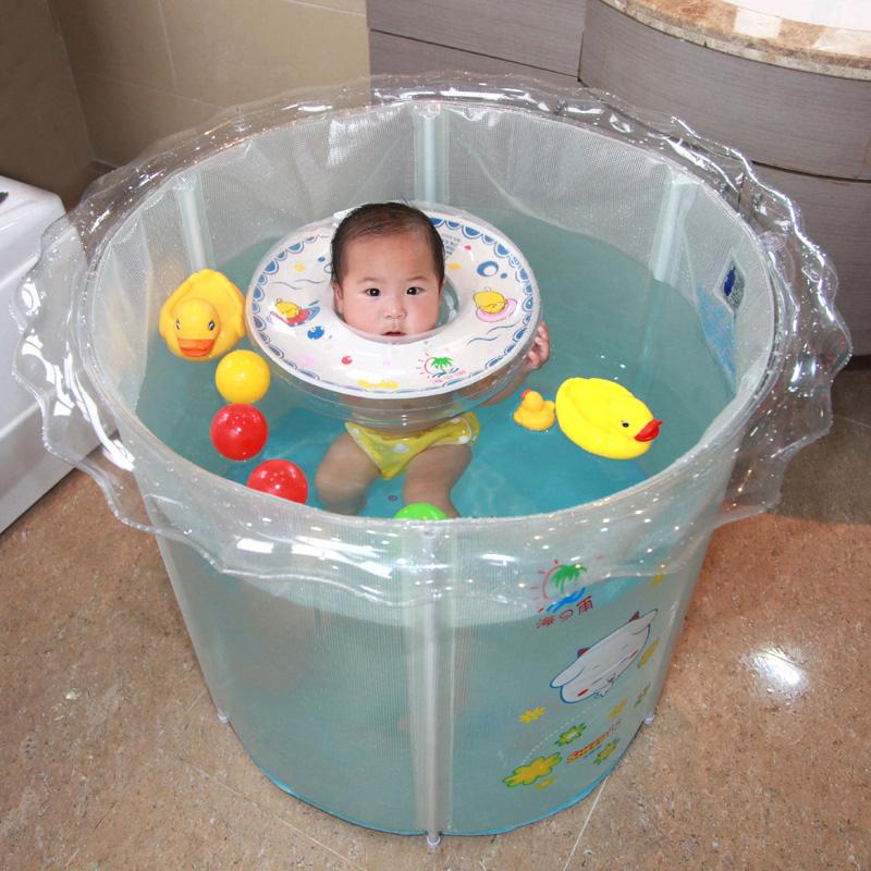 游泳池桶家用洗澡桶小孩