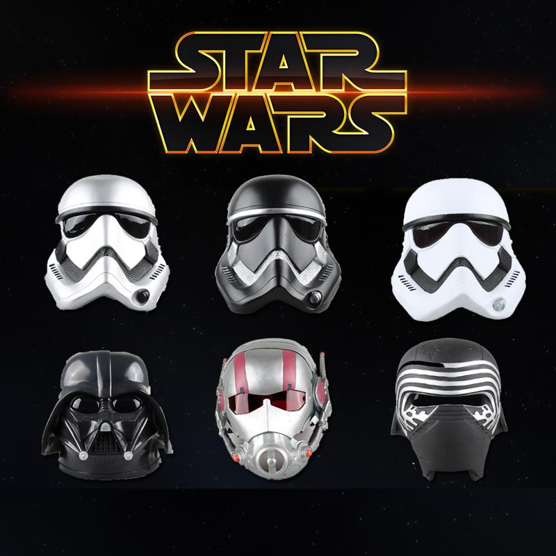 星球大战头盔白兵 黑武士 凯洛伦 蚁人1:1头盔面具儿童男塑料头盔