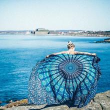 【小号精选】PentFair Mandala曼达拉挂布床单沙发巾桌布瑜伽挂毯