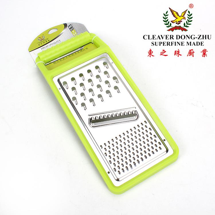 东之珠 厨房平板不锈钢多功能瓜刨水果削皮器磨泥器削皮刀刨丝器