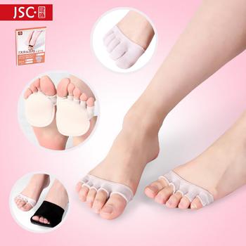 五指袜子女夏纯棉高跟鞋隐形浅口半掌袜船袜夏季薄款短袜脚趾袜套