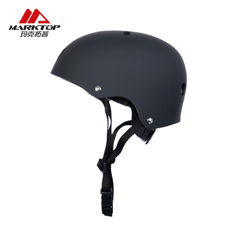 玛克拓普专业轮滑头盔溜冰自行车头盔儿童成人可调节滑板运动头盔