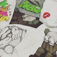 【皇冠特惠】Kaws x Uniqlo 联名系列限量短袖Tee T恤 海外款男女