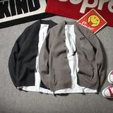 春秋季男士修身薄款毛衣外套男青年韩版针织衫男外穿线衣开衫潮
