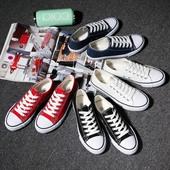 春季男士帆布鞋男鞋休闲鞋男韩版学生布鞋运动板鞋情侣低帮潮鞋子