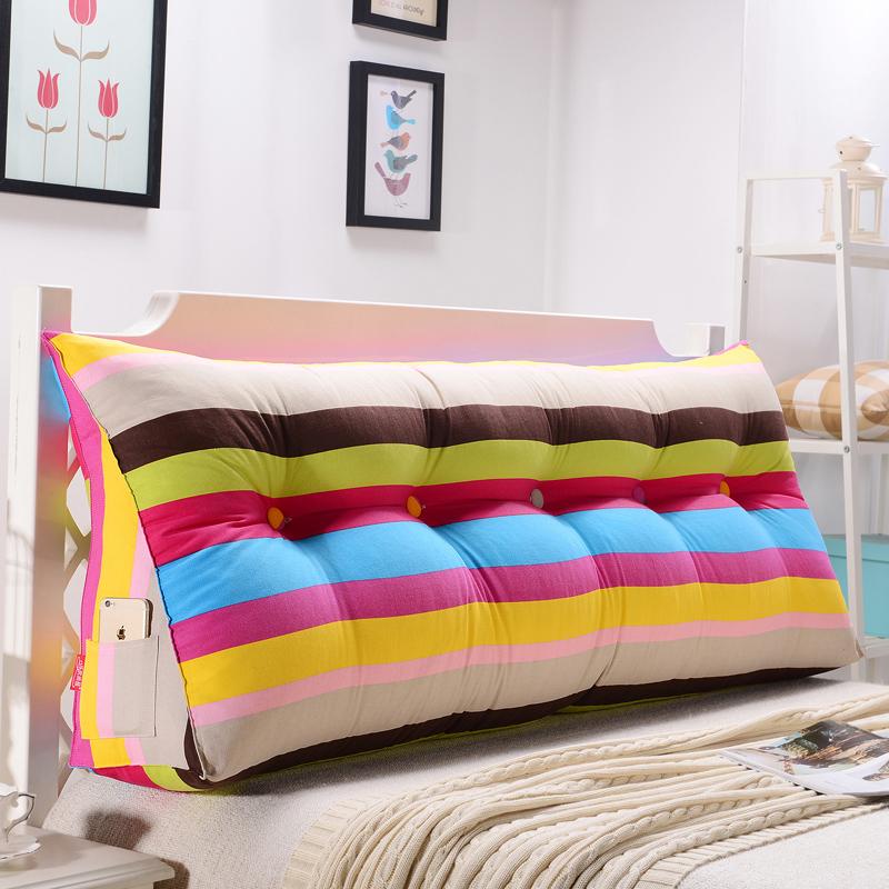 沙發靠背 雙人靠枕靠墊三角榻榻米床頭 大號床上