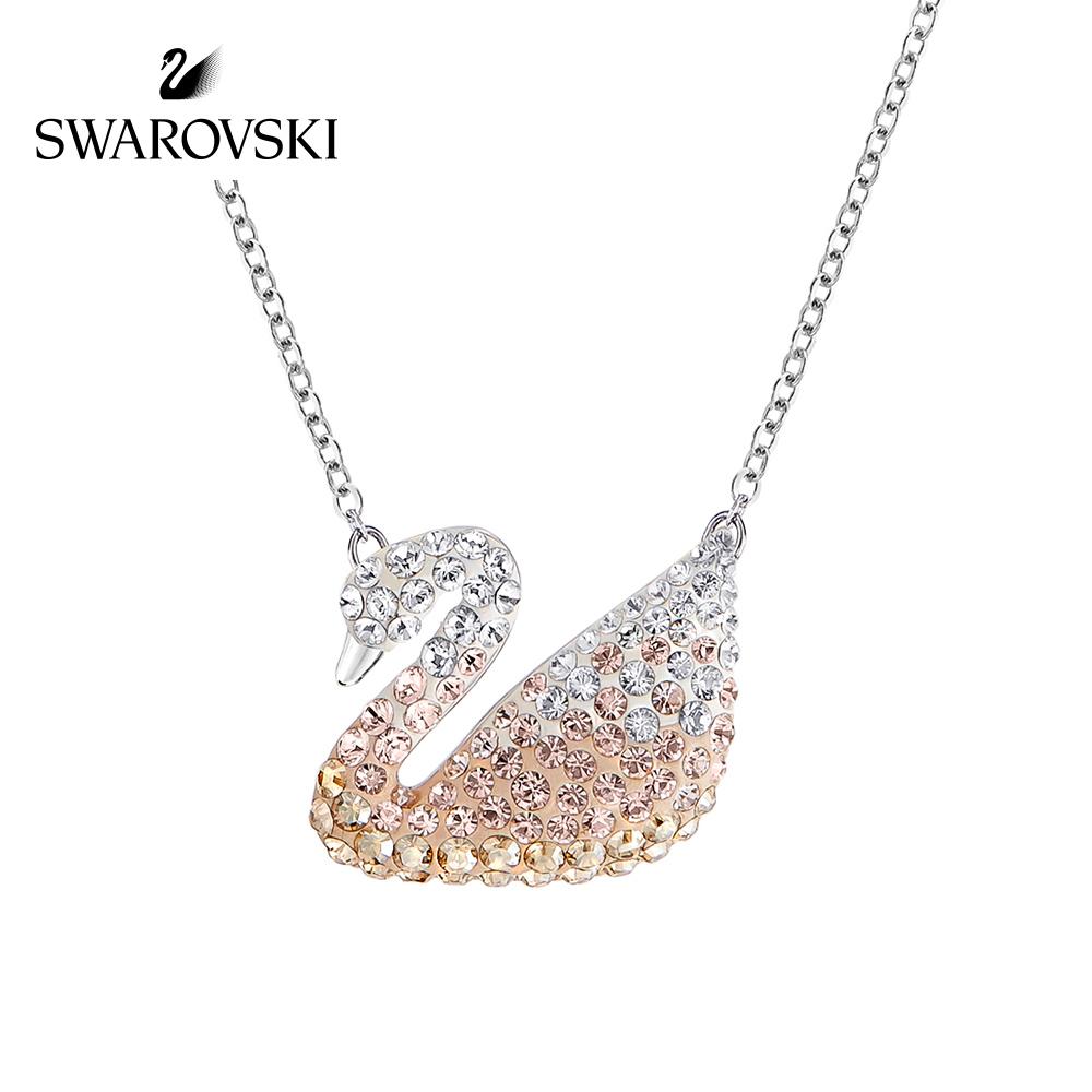【新品】施华洛世奇 2016 Iconic Swan天鹅项链女锁骨链