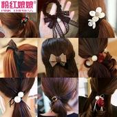 头绳发带发箍蝴蝶结发圈扎头发皮筋发绳头饰发夹饰品发饰发卡头花