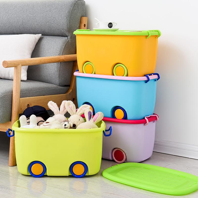 塑料盒床底储物箱儿童玩具收纳衣服大号整理家用