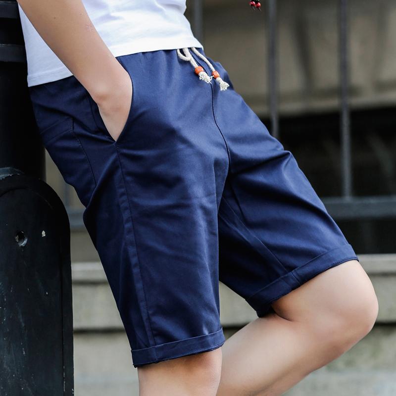 薄款潮修身青年沙滩运动夏季短裤宽松休闲裤韩版夏天男士五分