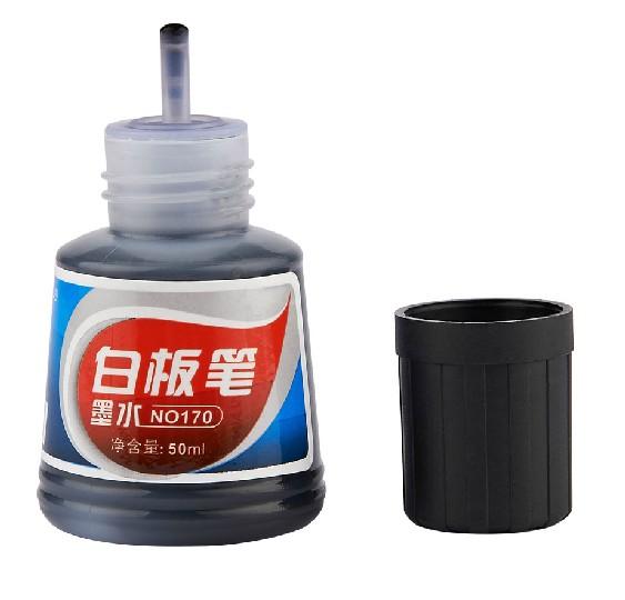 宝克K-170白板笔墨水可擦墨水50毫升瓶装黑红蓝有货 易加墨