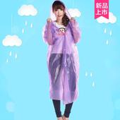 旅行户外成人加厚一次性雨衣便携式徒步登山旅游漂流透明男女通用