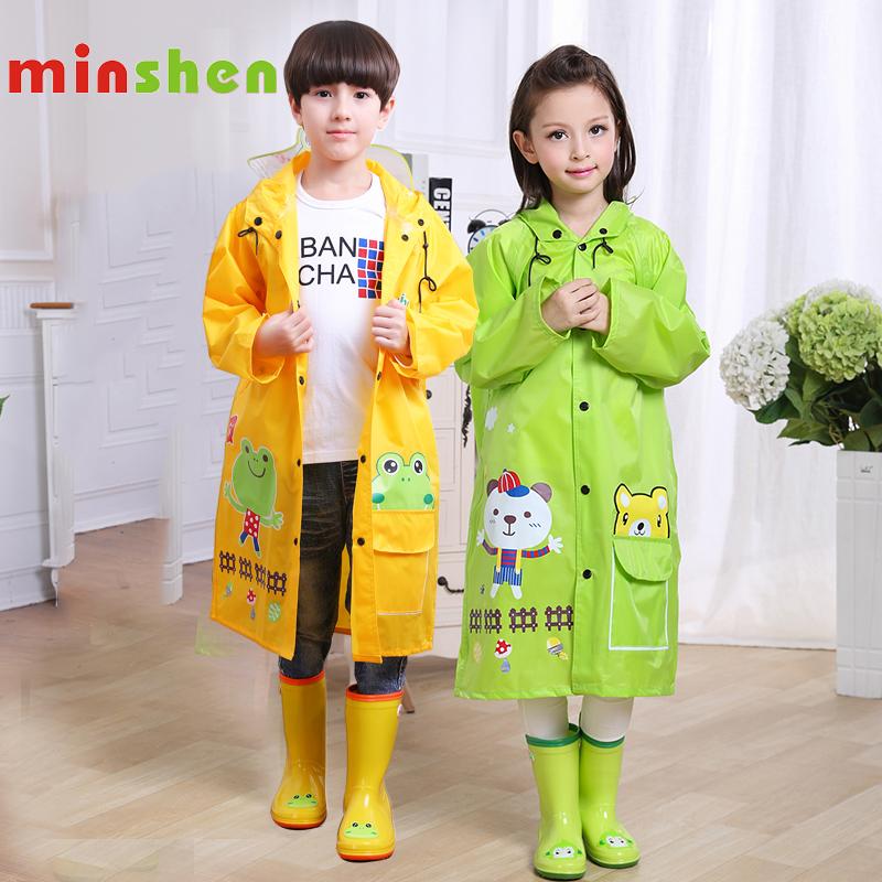 名盛儿童雨衣可爱韩国时尚小孩宝宝男童女童学生雨衣