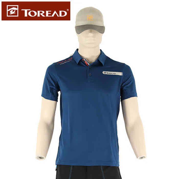 探路者2016春夏男士短袖T恤 户外薄款速干透气吸汗半袖KAJE81359