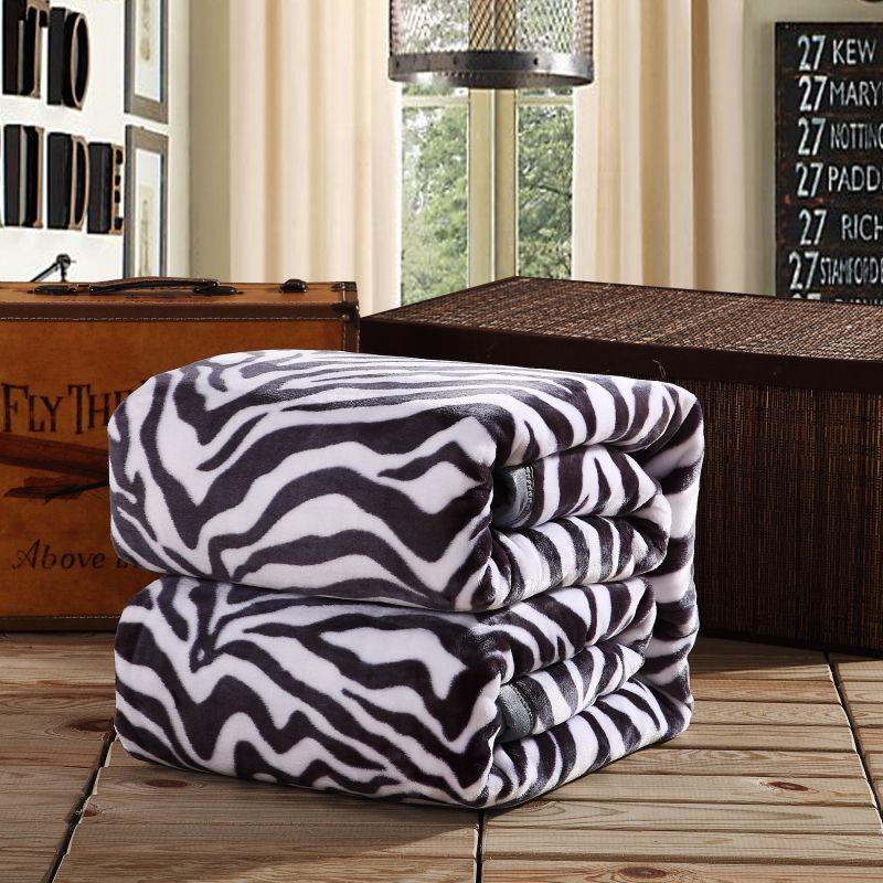 玉沙家纺毛毯加厚珊瑚绒毯子床单夏季午睡空调毯毛巾被法兰绒盖毯
