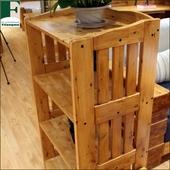 香柏木实木货架 花架 中式宜家全实木三层四层五层 置物架 包邮