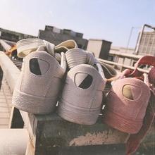 鞋子女2017新款韩版平底单鞋女豆豆鞋百搭学生秋冬季英伦风休闲鞋