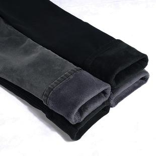 天天特价显瘦高腰灰黑色牛仔裤女加绒加厚大码小脚铅笔长裤子冬季