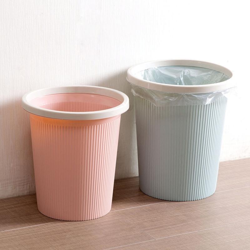 居家家欧式带压圈垃圾桶 家用厨房客厅卫生间垃圾篓垃圾筒子纸篓