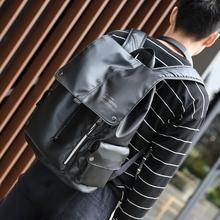 双肩包男女时尚潮流防水电脑包男士休闲大学生书包牛津布旅行背包