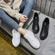 女鞋冬季加绒2017新款韩版百搭松糕底内增高保暖厚底小白鞋休闲鞋